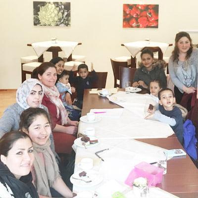 Sprachcafé in neuen Räumen