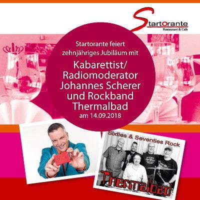 Kabarett und Livemusik